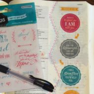 Study Your Bible with Stickers