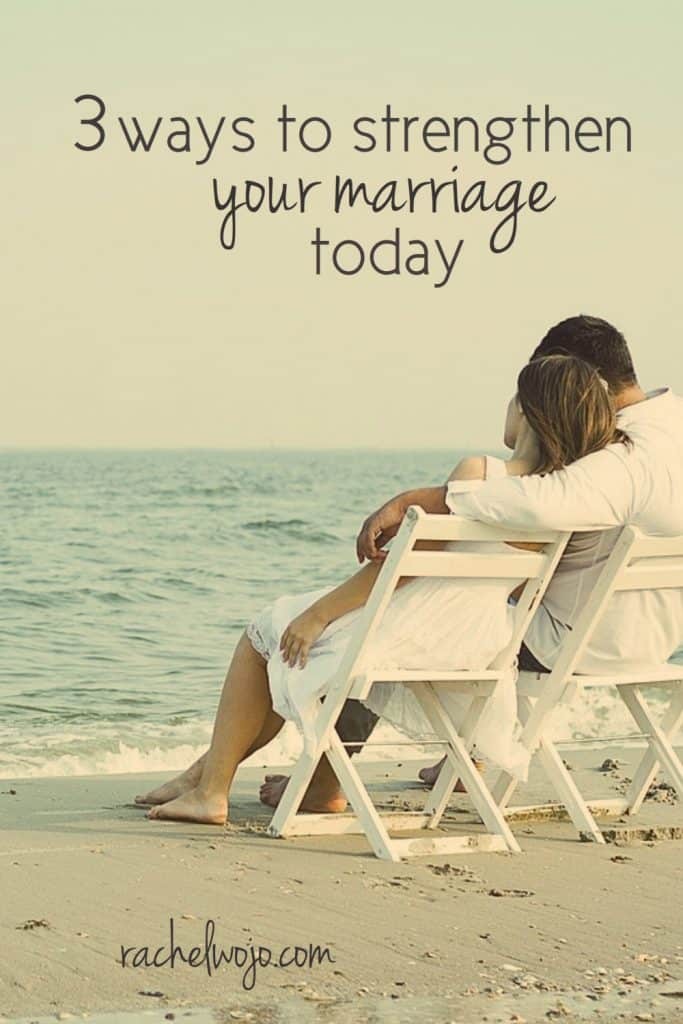 You and your spouse have developed and grown as a couple. No doubt your marriage has encountered both mountains and valleys, whether it's been 10 weeks or 20 years. But the one thing that has not changed is your desire to have a strong marriage. You really love each other and long to hold to your wedding vows. Check out these 3 ways to strengthen your marriage today.