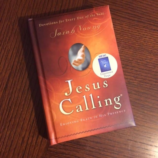 The devotions in Jesus Calling are simple, yet challenging. Each day's read is a wonderful reminder of Jesus' love and presence every day of the year. There have been so many times over the years when I read this devotional that I knew God was using it in my life. The Scriptures listed would often be just the ones I needed to focus on for that day. I've lost track of how many times I've read through this devotional, but I think it's been 5 times. Yes, it's that good!