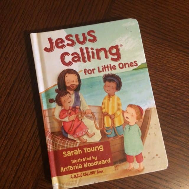 This book is designed especially for preschoolers and toddlers. The short devotions in this book reassure young children of Jesus' love for them. I just love the sweet illustrations in this version!