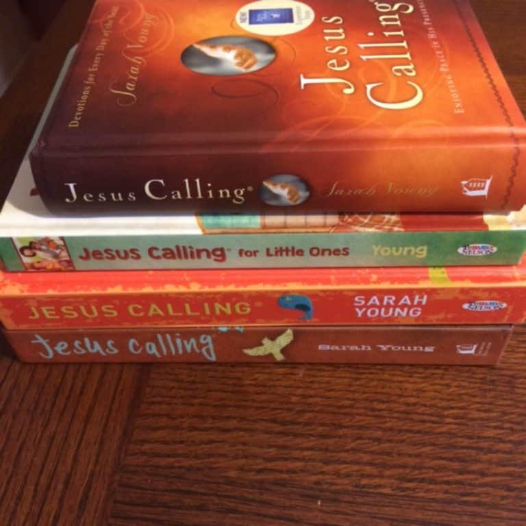 Jesus Calling Devotionals Review & GIVEAWAY
