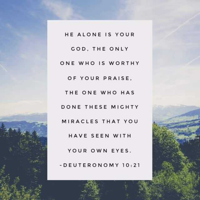 "You witnessed a miracle and thought ""No one but God could do that."" Then life moved on and some crazy circumstance reentered, disheartening you to the core. Today I'm pausing to remember a few of those miracles and I'm praising him for his mighty works! Join me? #praisehimanyway#biblereading"