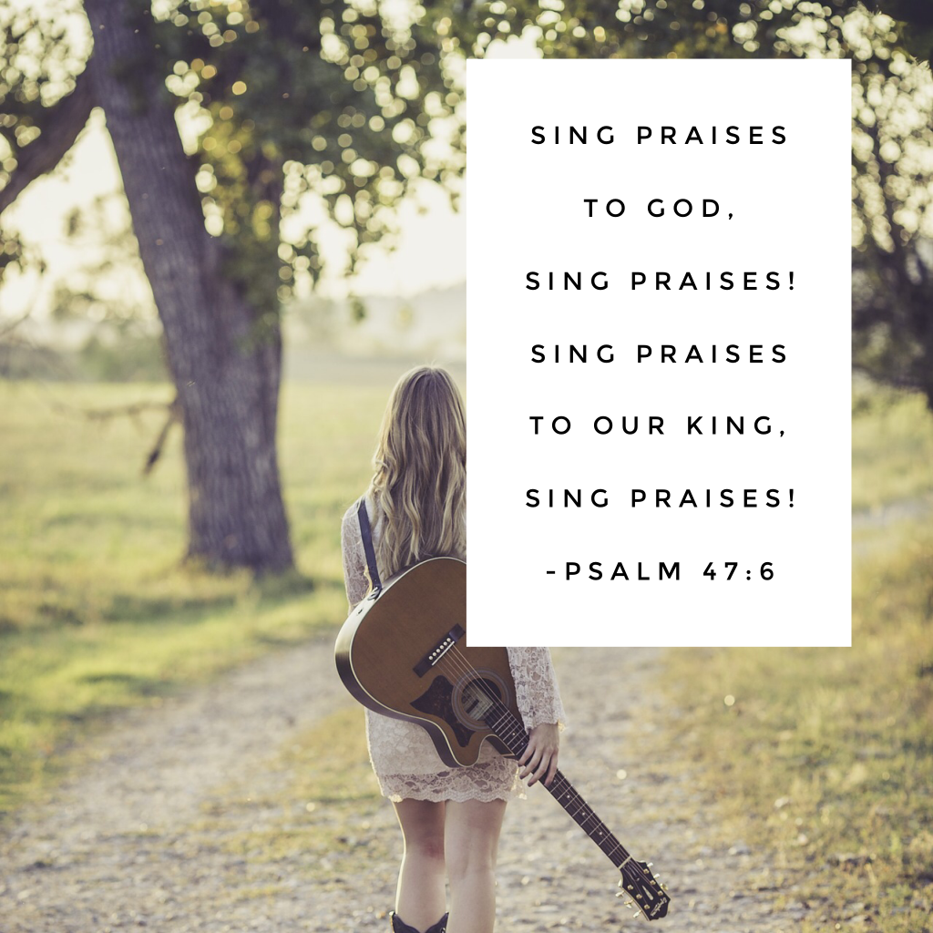 The days when I least feel like giving praise are the days when praise is most powerful thing I can do. I've found cranking up the worship music brings my heart to a place of praise! Have a terrific Tuesday! #praisehimanyway #biblereading