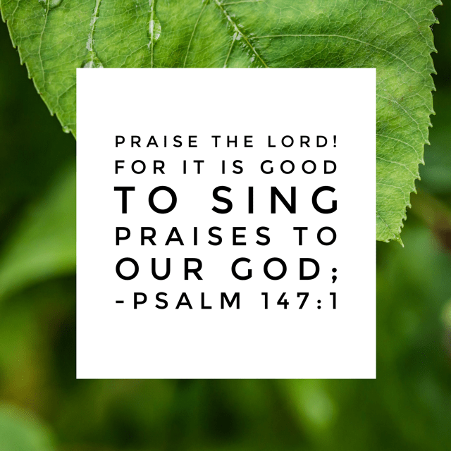 "...for it is pleasant, and a song of praise is fitting."" There is never a time when a song of praise is not fitting. That's something to think about this rainy morning. #praisehimanyway #biblereading"