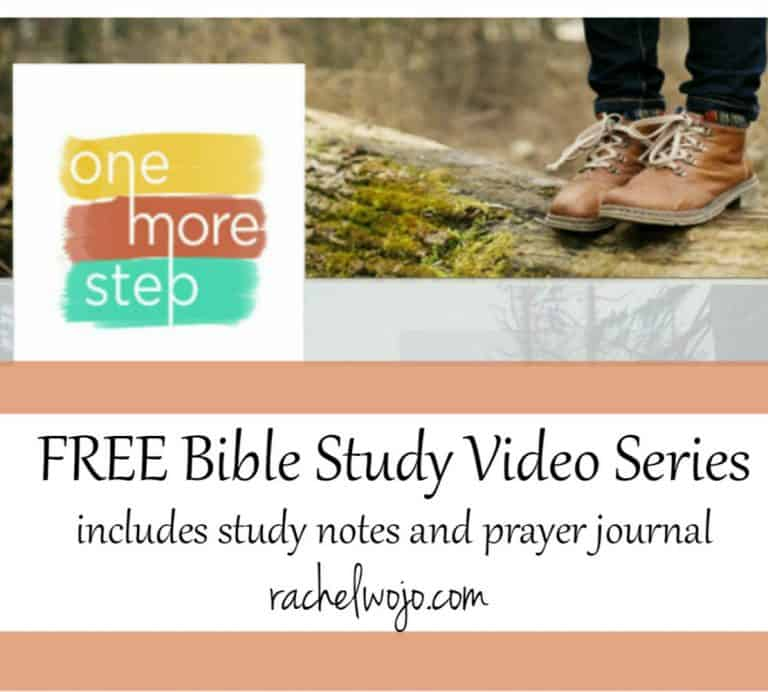 FREE Bible Study video series for One More Step