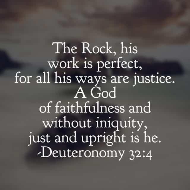 Hallelujah for #ourGodtheRock! #biblereading
