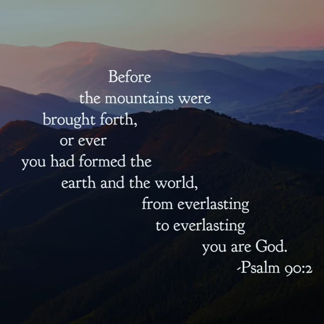 Before your painful past. Beneath your pressing present. Beyond your fearful future. No matter your time span or difficult issue, he is God from everlasting to everlasting! Take that and make it a super Saturday! #ourGodtheRock#biblereading