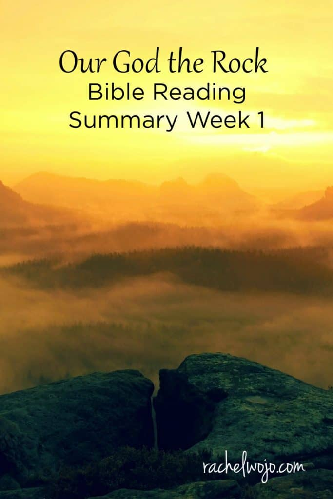 I'm a little behind on posting our Friday summary once again, but I'm still hopeful that I'm catching up. Last week I posted the Friday summary on Tuesday and I'm so sorry to be this far behind on the schedule. I pray that the Lord is continuing to use this Bible reading challenge to encourage your heart! Let's check it out.