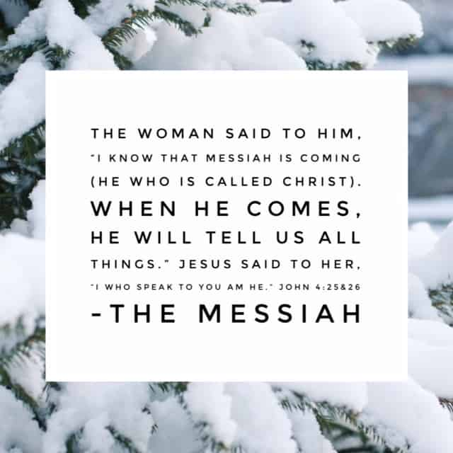 "She said ""Come see a man who told me all I ever did."" The woman at the well felt this man must be the long-awaited Christ- the Messiah. And with the glimmer of hope that burned in her soul, she told everyone to go meet him. Meeting Jesus prompts a desire to share. Who will you share with this season? #namesofGod#biblereadingplan #biblereading Day 22 PS: The Lord keeps me humble! Yesterday I did today's reading by accident. So this John passage is actually yesterday's reading. 😊"
