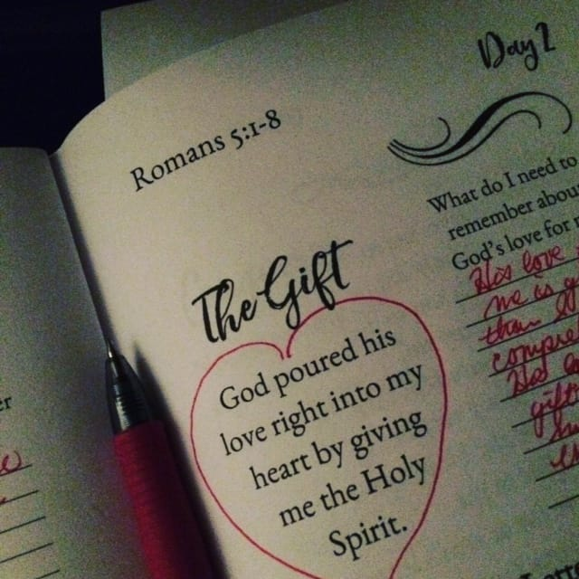 Think about that and you'll rest well tonight! #truelovejournal#biblereadingplan