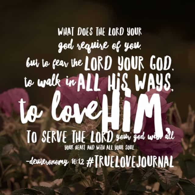 My walk with God reveals my love for God. Meditating on our #truelovejournal #biblereadingplan this afternoon. Happy Sunday!