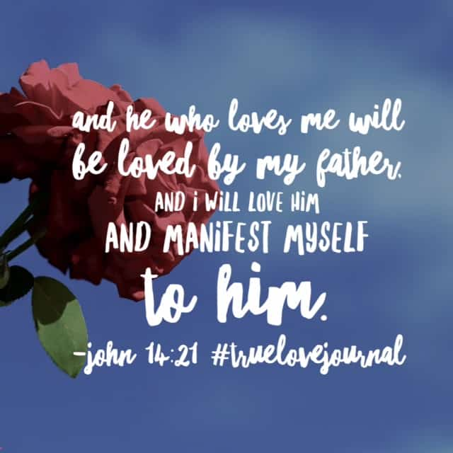 Manifest is such a beautiful word. Jesus promises he will make himself real and present in our everyday lives. What a promise! I can't wait to see Jesus today. How will he make himself known to you? Will you be so busy that you miss him? Hope your Friday is filled with moments of recognizing his love! #biblereading#biblereadingplan #truelovejournal