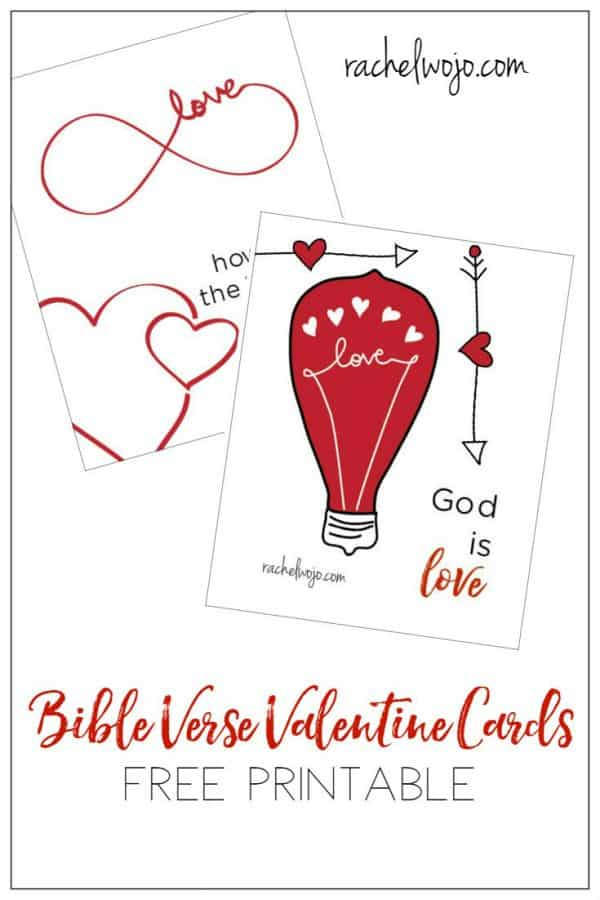 Bible Verse Valentine Printable