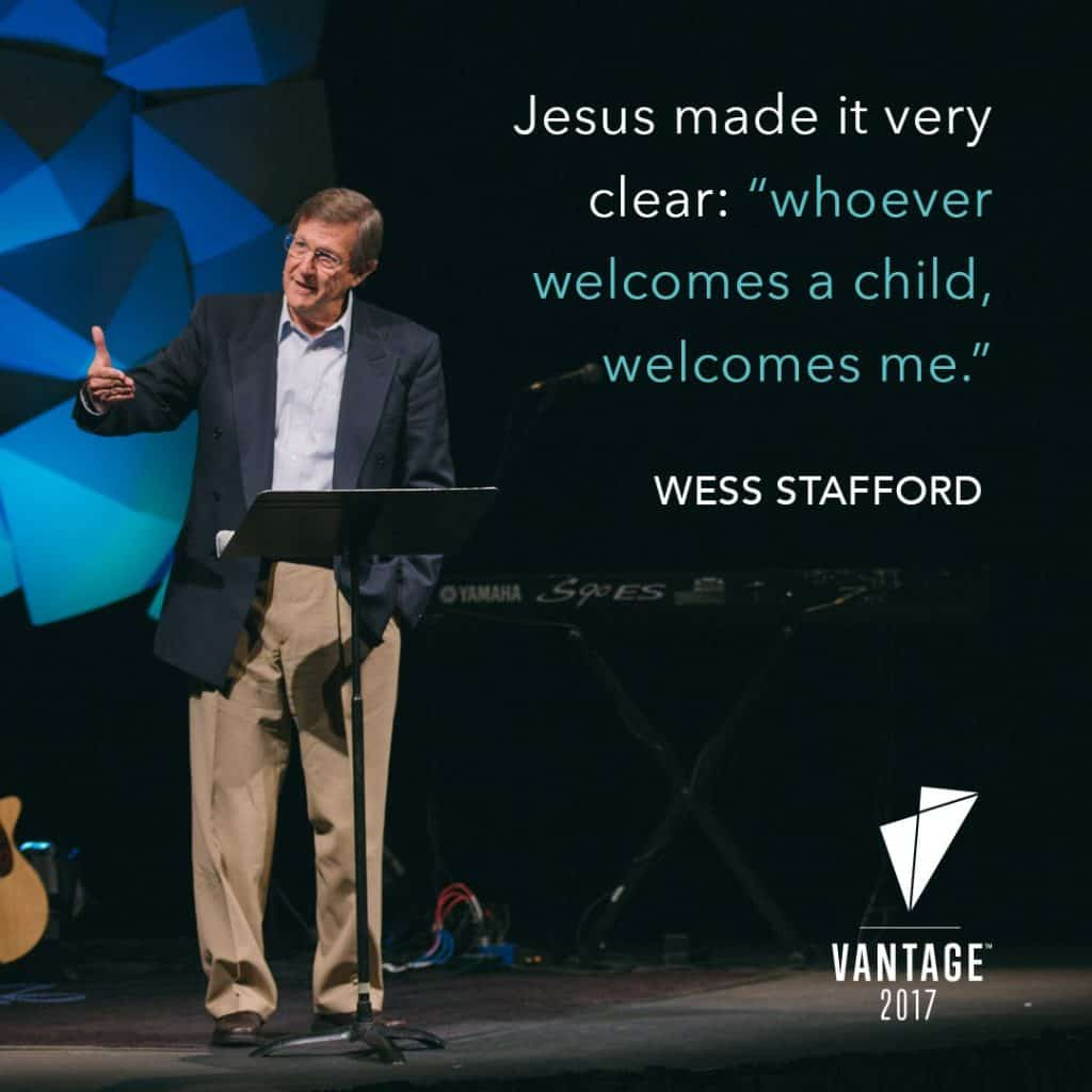 Wes Stafford - CEO, Compassion International