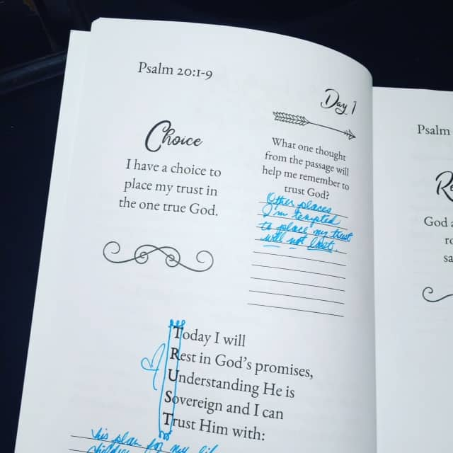 Today I will rest in God's promises, understanding he is sovereign and I can trust him with .... What goes in the blank, Friend? #confidenttrustjournal#biblereadingplan #biblereading#biblejournaling