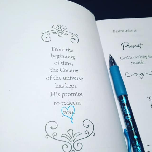 He promised to buy back what he rightfully owned and so he paid the price for sin. The sin of all mankind. Mine and yours. We, the creation of God, can stand before him as Holy and blameless, enjoying the renewed fellowship we've always longed for. Our God more than deserves to have our confident trust. #confidenttrustjournal #biblereading#trustinggod