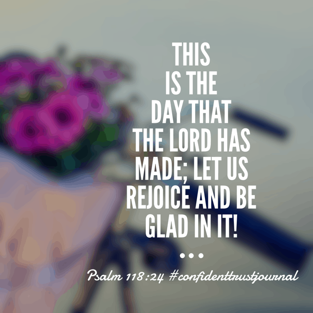 Our God created this very day from beginning to end. He is orchestrating every minute, handling every second, and monitoring every moment. There is nothing that has happened or will happen that He can't make into our good and His glory! Take that, Wednesday. #confidenttrustjournal#biblereadingplan #biblereading