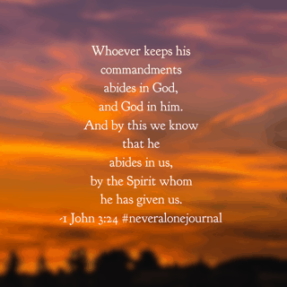 The storm last night prompted thoughts from the #neveralonejournal#biblereadingplan . How thankful I am to know the God of the universe who loved me and gave himself for me! How thankful I am to have the Holy Spirit showing me the way! Have a beautiful Memorial Day remembering those who, though no longer here, have impacted your life! #biblereading