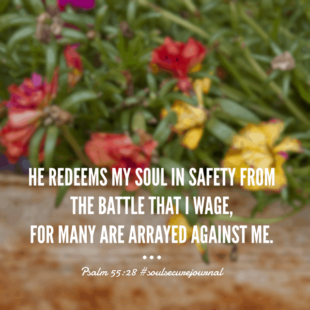 "When worry is the battle, the enemies are many. The arsenal is varied and it's easy to grow weary with worry. But the Redeemer! God has provided a weapon like no other to ward off anxiety. ""Prayer trumps panic. Every. Time."" - One More Step . Run to the Redeemer this morning. Casting all your cares on him because he cares for you. #soulsecurejournal #biblereadingplan #winningoverworry #biblereading"