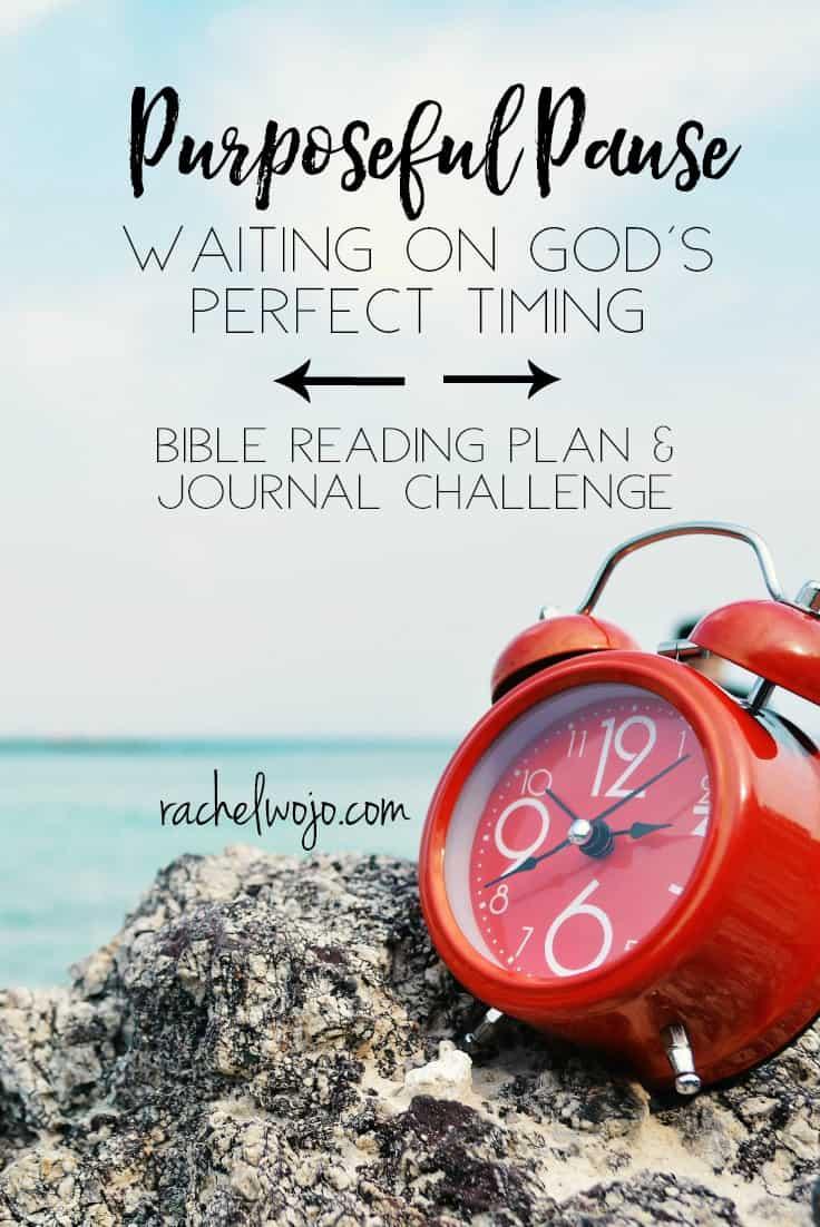 Purposeful Pause Bible Reading Plan & Journal Challenge
