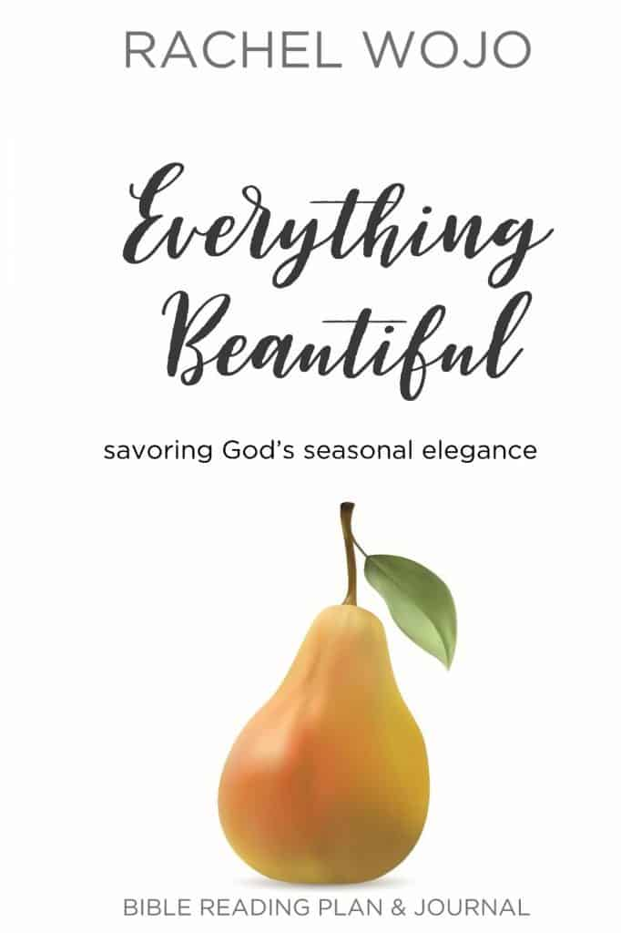 "A 31 Day Bible reading plan & journal to embrace all God has made beautiful ""in its time."" If discovering more beauty in every day sounds like a great idea, then you'll love this simple Bible study guide."