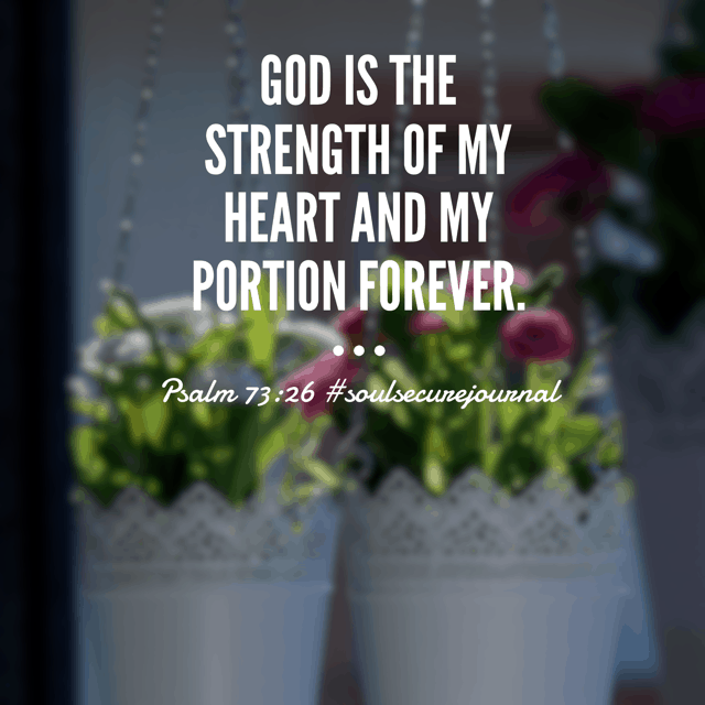 Why worry about circumstances outside of my control? Why worry about potential problems? Whatever comes my way, his strength will be more than enough. Christ is all I need. #biblereadingplan #winningoverworry #soulsecurejournal #biblereading