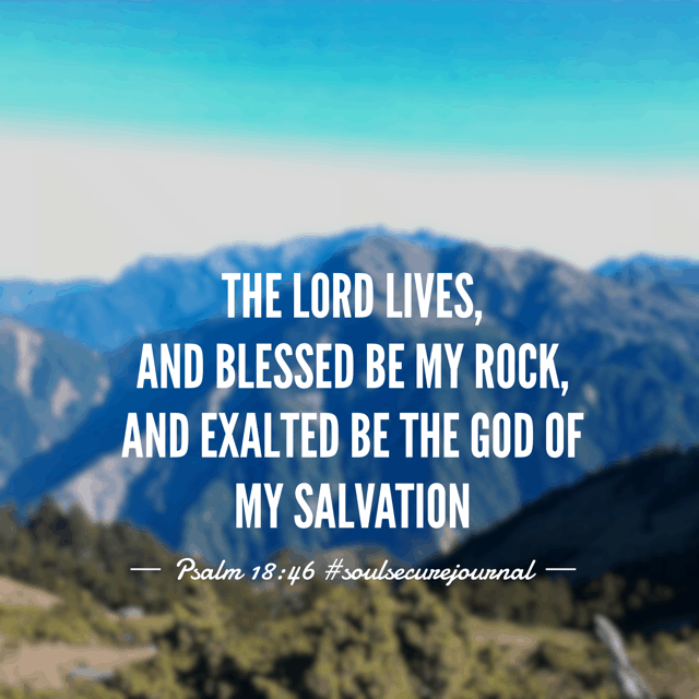 Some seasons of life require simple thoughts. Mine for today is that the Lord is my Rock and I will not worry or fret the storms. Have a wonderful Wednesday! #soulsecurejournal #biblereading #biblereadingplan #winningoverworry