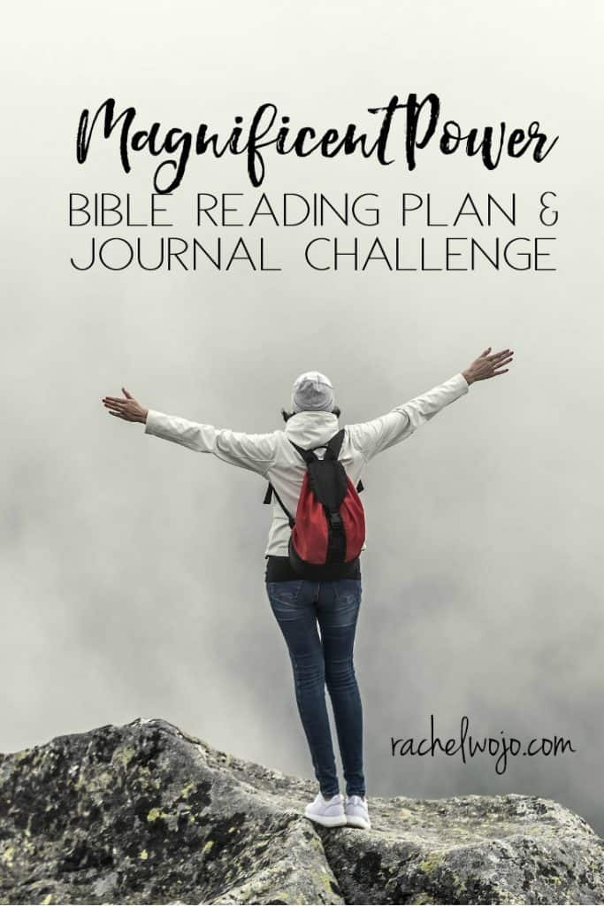 "Welcome to the Magnificent Power Bible reading plan & journal challenge!! The number one request I receive about the monthly challenge is: ""Could you please share the Bible reading plan earlier?"" I am working to do just that, Friends. I really am! But here we are for September. For many of us, this month is a bit of a reset to routine and a great time to begin a new Bible reading plan. Think with me for a moment about what would happen if you took a month to recognize that... GOD IS BIGGER THAN ANYTHING! #magnificentpower"