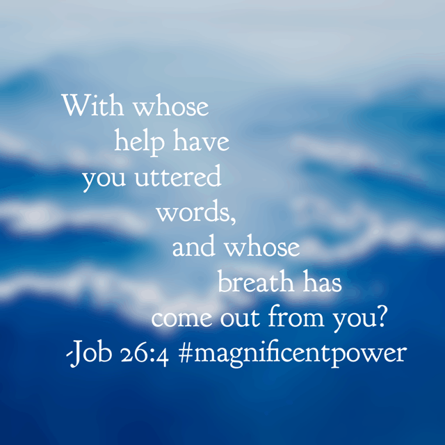 God provides every breath you take. Imagine what your life means to him? What would it take for you to recognize that God is bigger than anything? It's Day 1 of our new monthly #biblereading challenge, Magnificent Power. Join in now and read your Bible for 30 days in a row, all the while knowing God is BIGGER than anything you face! #magnificentpower #godisbiggerjournal#biblereadingplan