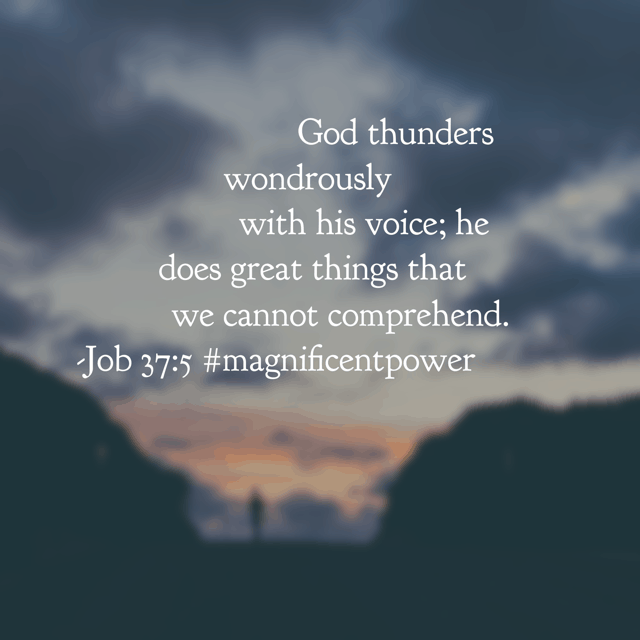 We can wrestle with trying to comprehend God's incredible power or we can remember he is BIGGER than any solution we could possibly muster. Have a terrific Tuesday knowing your God has each detail in control! #magnificentpower #godisbiggerjournal #biblereadingplan #biblereading