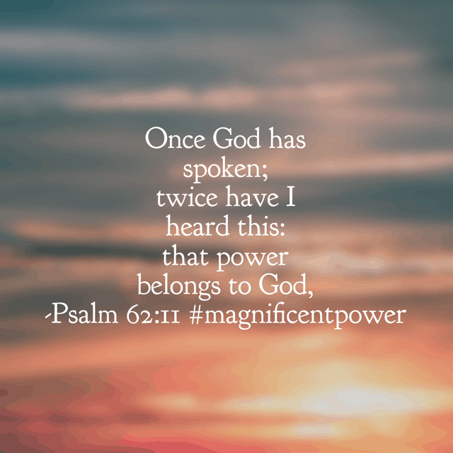 The psalmist fully recognized and appreciated the power of God. In the midst of the storm, he is still in control. Have a faithful Friday for he is faithful! #magnificentpower #godisbiggerjournal #biblereadingplan #biblereading