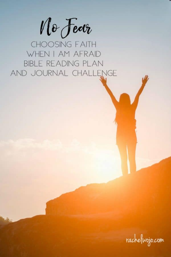 No Fear Bible Reading Plan and Journal Challenge