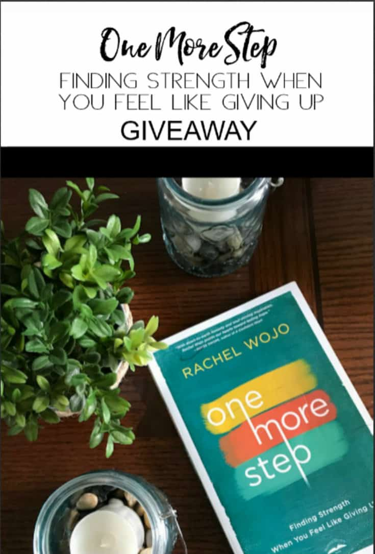 One More Step Book Giveaway