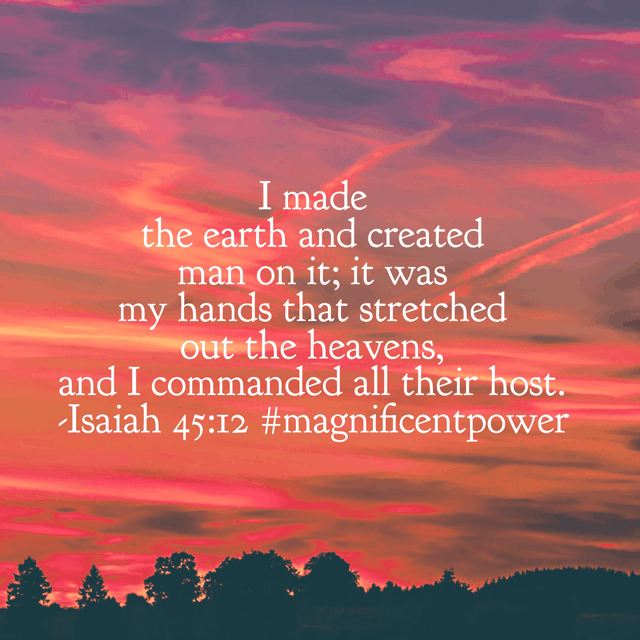 And what would possibly make us think that he doesn't have the whole world in his hands on this autumn Monday? Have a great day!#magnificentpower#biblereadingplan#biblereading#godisbiggerjournal