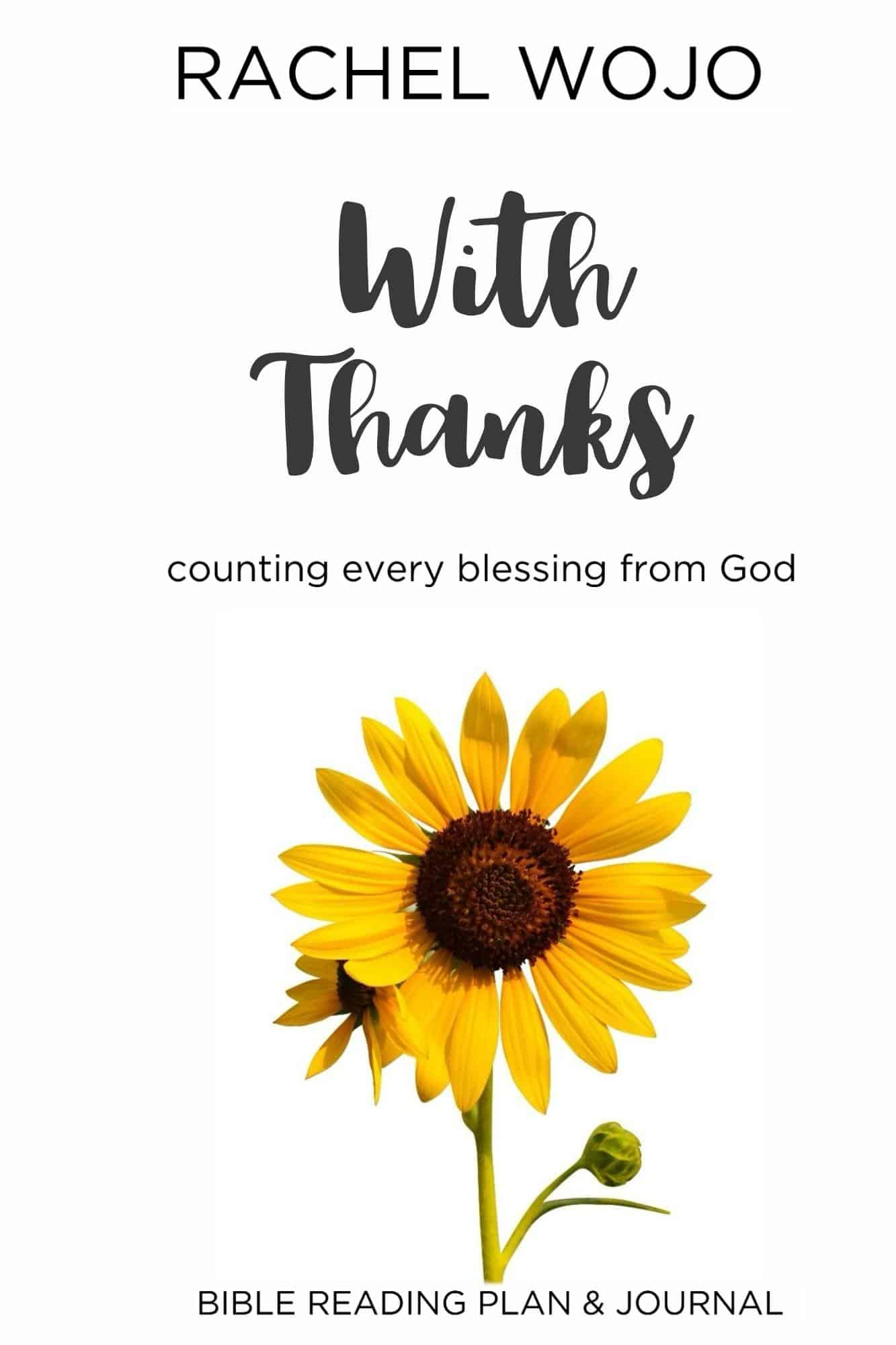 With Thanks Bible Reading Plan & Journal / more than just a gratitude journal!