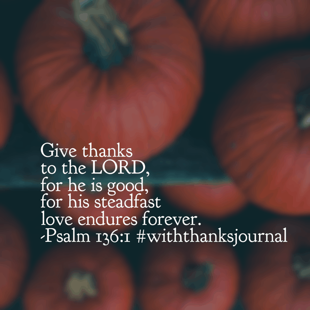 In an ever-changing world, our God's never-ending love is something to be thankful for. He loves you and as long as you are breathing, life has meaning.#onemorestepbookI'm so grateful for God's endless love. Have a terrific Tuesday in wonder of it!#biblereadingplan#biblereading#withthanks#withthanksjournal#gratitudejournal
