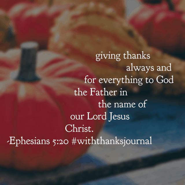 Because there is always something to be thankful for! Find your#thankfulthreeon this#thankfulthursday. Will it be a physical provision, a special person or a personal blessing?#withthanksjournal#biblereadingplan#withthanks#biblereading#gratitudejournal