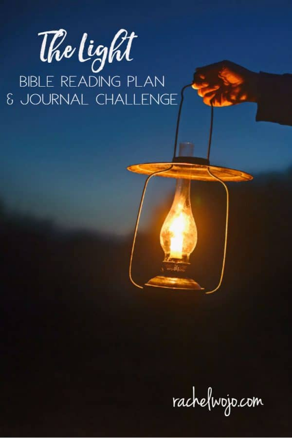 The Light Bible Reading Plan and Journal Challenge