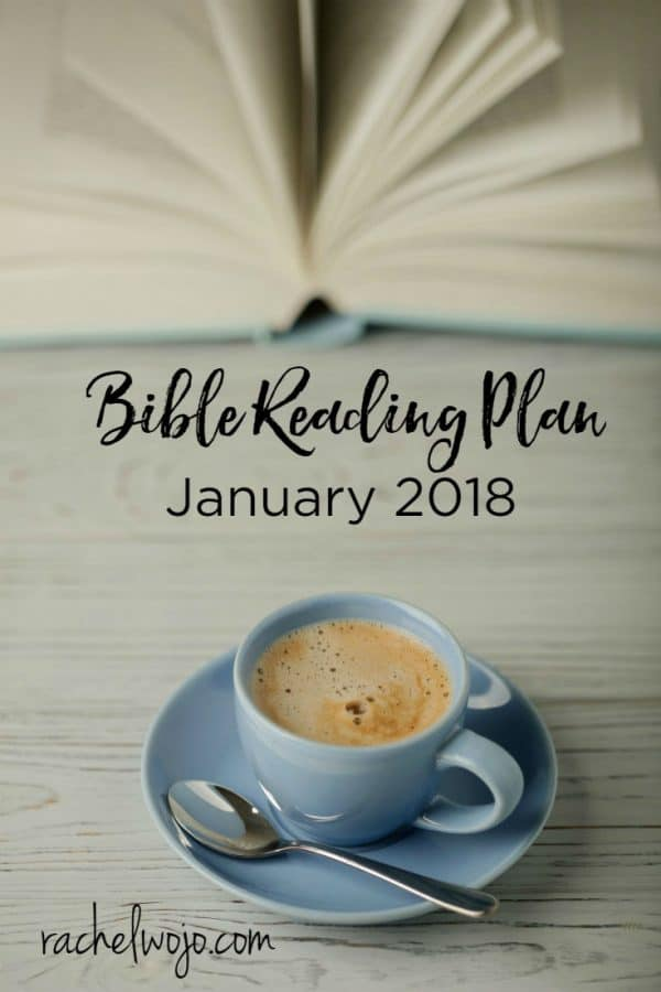 Bible Reading Plan for January 2018