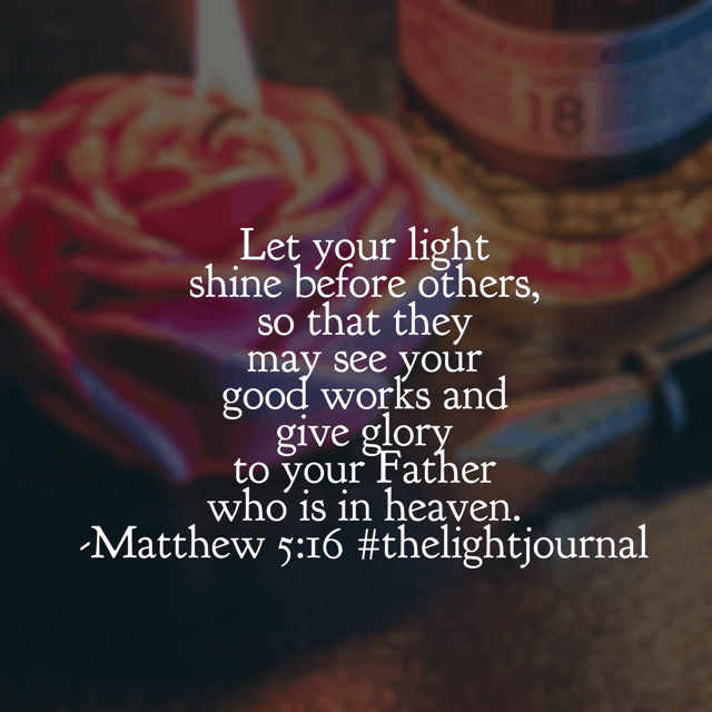 Giving glory to the Father this morning for the birth of his son and the hope for the future! May our lights shine for him today! #thelightjournal #biblereadingplan#biblereading