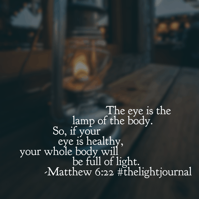 A great question for the new year: What are we choosing to see? Or maybe it should be: Where are we choosing to focus? Jesus, let us fix our eyes on your light today. #thelightjournal #biblereadingplan#biblereading #bibleverses