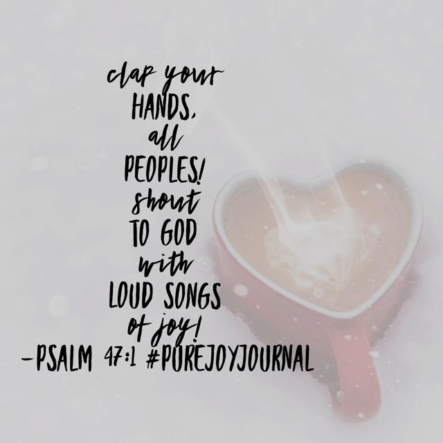 Discovering joy doesn't have to be elusive. When we focus on who God is and what Jesus has done for us, then joy can easily be ours, no matter the circumstances! Savor Day 1 of the#purejoyjournaland#biblereadingplan!