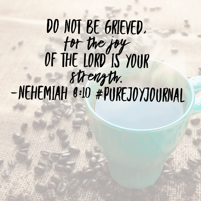 Have you started to look ahead and feel like there is just no way you'll make it? It's too hard and you just want to ball up and cry? God's people felt the same way in our #purejoyjournal #biblereadingplan passage.