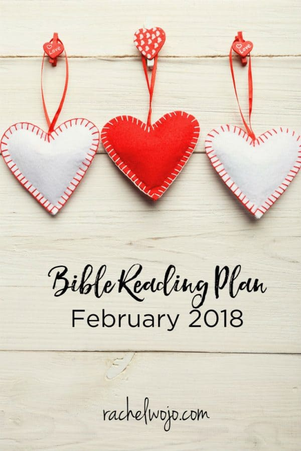 February 2018 Bible Reading Plan and Journal Challenge