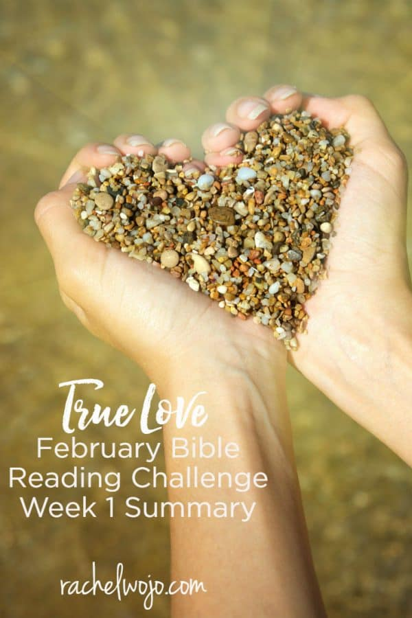 February 2018 Bible Reading Plan Week 1 Summary
