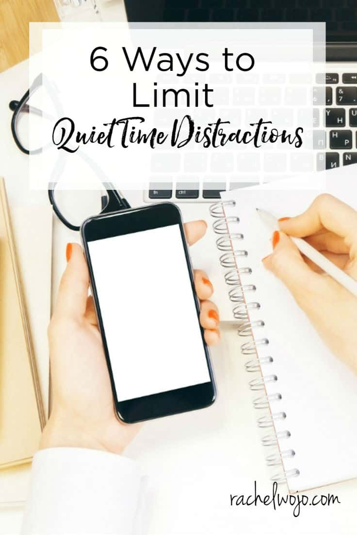 So you really want to grow your relationship with God, but every time you start reading your Bible or praying, a million things compete for your attention. I get it! You feel like you can't control the interruptions, but what can you do to alleviate the issue? Today I wanted to provide 6 ways to limit quiet time distractions.