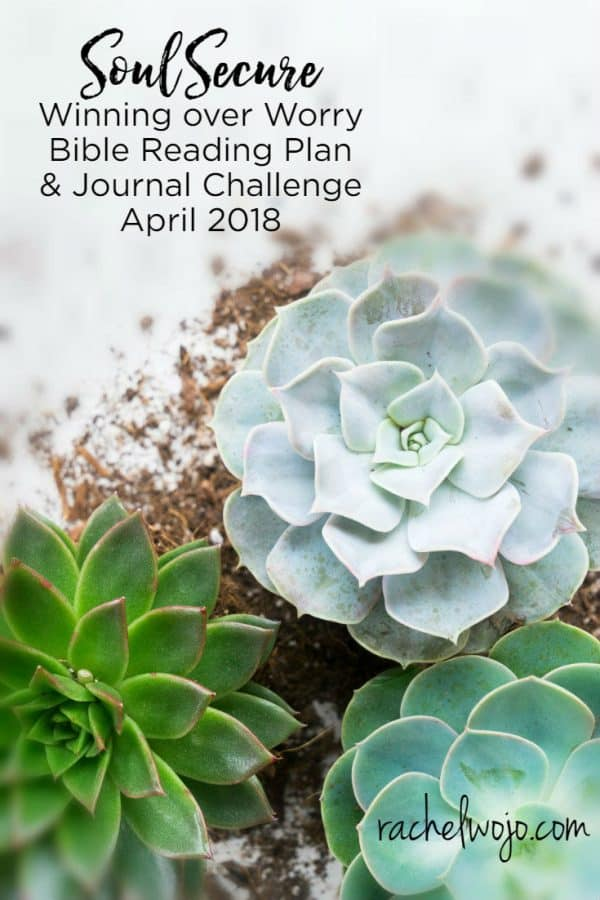April 2018 Bible Reading Plan and Journal Challenge