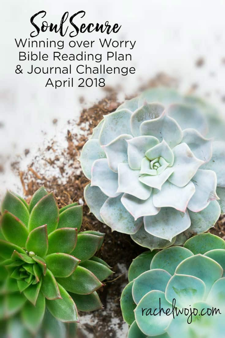 Soul Secure: Winning over Worry Bible Reading Plan & Journal Challenge