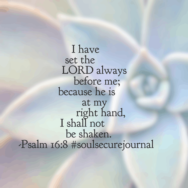 It's Monday morning and you know the winds are gonna start blowing (if they haven't already!) But we have no need to be shaken!#winningoverworry#soulsecurejournal#biblereadingplan