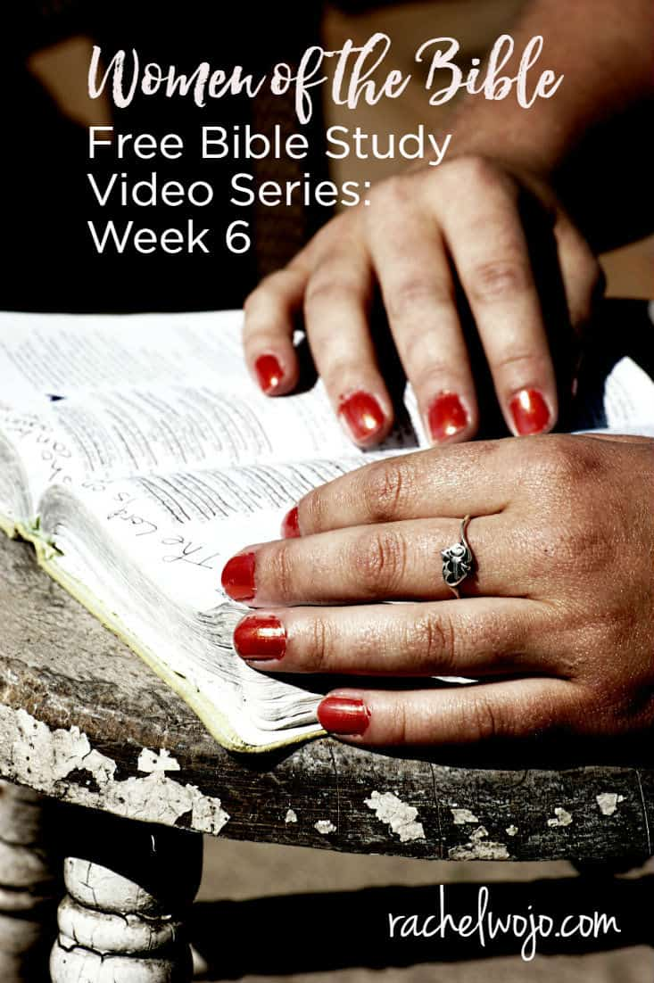 Welcome to the Women of the Bible video series: Woman with the Issue of Blood. Each video in this 6 week series lasts 15 minutes and covers one woman of the Bible to whom we can relate today. This video is the last one in the current series to be released and one of my favorites. At the end of this post, you'll find the links for all the videos in the series.  Below is a transcription of the video. Enjoy!